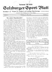 Salzburger Sport-Blatt