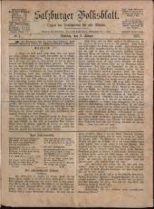 Salzburger Volksblatt: die unabhängige Tageszeitung für Stadt und Land Salzburg