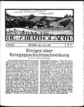 Der Schützengraben: Feldzeitung des XIV. Reservekorps