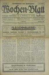 Triestingtaler und Piestingtaler Wochenblatt