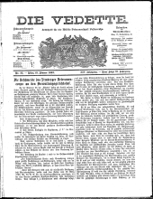 Die Vedette. Militär-Zeitschrift