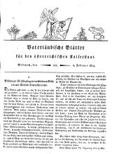 Vaterländische Blätter für den österreichischen Kaiserstaat