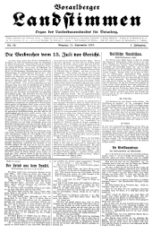 Vorarlberger Landstimmen