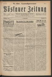 N. -Oe. Landpresse. Vöslauer Zeitung