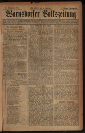 Warnsdorfer Volkszeitung