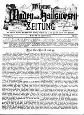 Wiener Moden- und Hauswesen-Zeitung