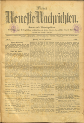 Wiener Neueste Nachrichten <1894-1919>
