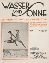 Wasser und Sonne. Zeitschrift für Sport und Körperkultur