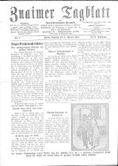 Znaimer Tagblatt und Niederösterreichischer Grenzbote