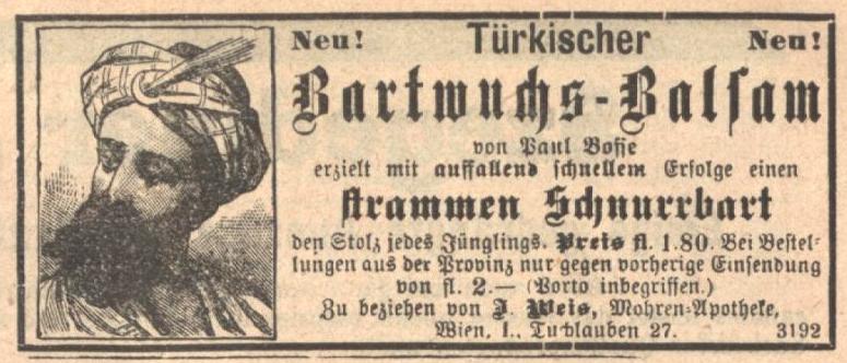 Türkischer Bartwuchs-Balsam